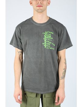 Heat Wave Tee   Grey by Brain Dead
