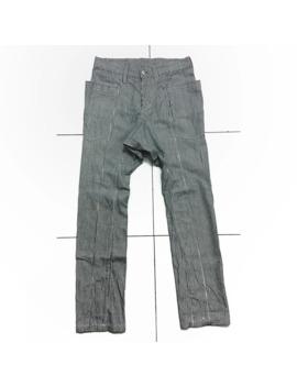 Katharine Hamnett Hickory Bush Pant Authentic Unisex Rare by Junya Watanabe  ×  Issey Miyake  ×  Katharine Hamnett  ×