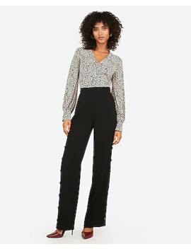 Leopard Print Long Sleeve Chelsea Popover by Express