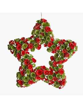Star Wood Curl Wreath by Pier1 Imports