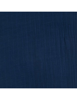 Navy Cozy Gauze Fabric by Hobby Lobby