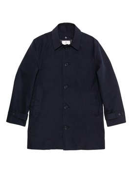 American Trench Coat In Dark Navy by American Trench