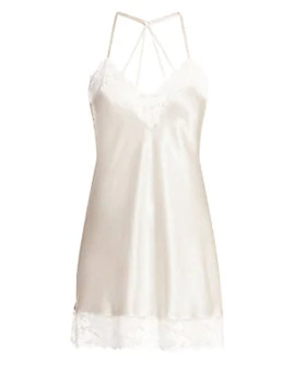 Delphinium Lace Chemise by In Bloom
