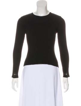 Cashmere Long Sleeve Sweater by Chrome Hearts