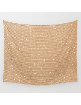 Sideral Heavens   Gold Wall Tapestry by Society6