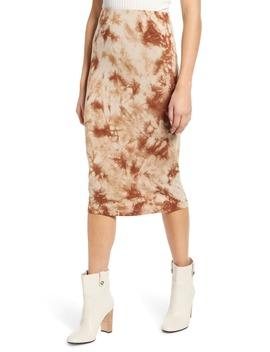 Tie Dye Midi Skirt by Love, Fire