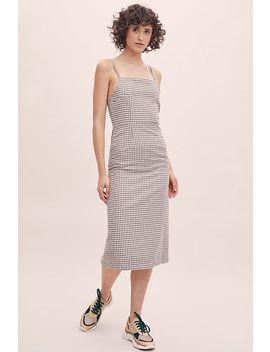 Rita Row Gingham Midi Dress by Rita Row