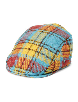 Colourful Tweed Driver Cap by City Sport