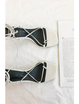Inika Heels // White by Vergegirl