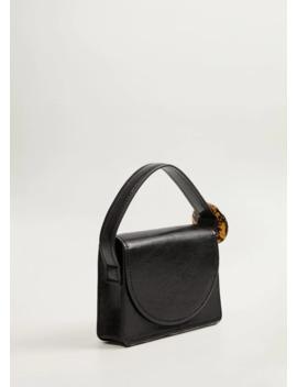 Τσάντα αγκράφα ταρταρούγα by Mango