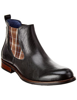 Robert Graham Baum Leather Boot by Robert Graham