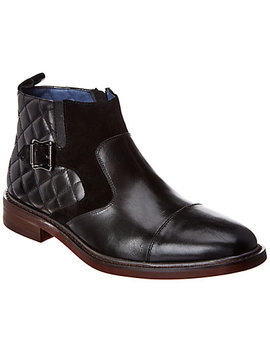 Robert Graham Toland Leather & Suede Boot by Robert Graham