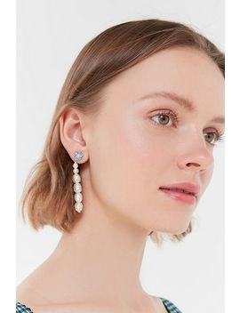 Delilah Pearl Drop Earring by Urban Outfitters