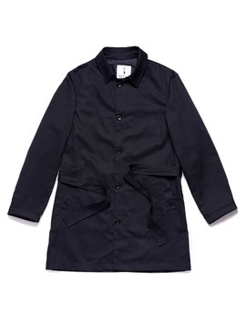 Belted Trench Coat In Dark Navy by American Trench
