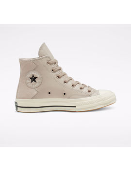 Vltg Leather And Suede Chuck 70 by Converse