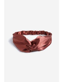 **Rust Hair Bandeau by Topshop