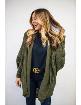 Doll In The Fall Cardigan   Olive by Hazel & Olive