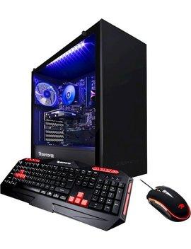 Desktop   Amd Ryzen 3 3200 G   8 Gb Memory   Nvidia Ge Force Gt 710   1 Tb Hard Drive   Black by I Buypower
