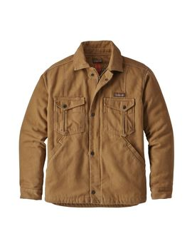 Patagonia Men's Iron Forge Hemp® Canvas Ranch Jacket by Patagonia