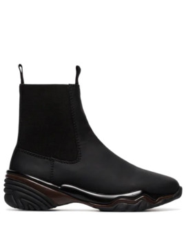 Textured Sole Chelsea Boots by Ganni