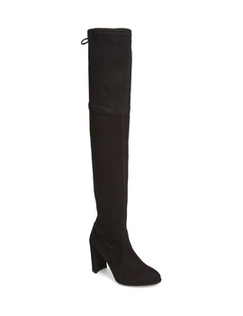 Hiline Over The Knee Boot by Stuart Weitzman