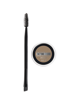 Maybelline Tattoo Studio Brow Pomade Long Lasting, Buildable, Eyebrow Makeup, Light Blonde, 0.106 Oz. by Tattoo Studio