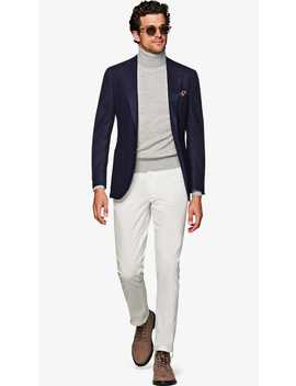 Jort Blue Jacket by Suitsupply