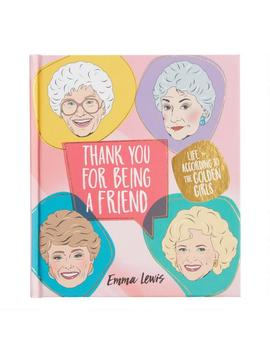 Thank You For Being A Friend Golden Girls Activities Book by World Market