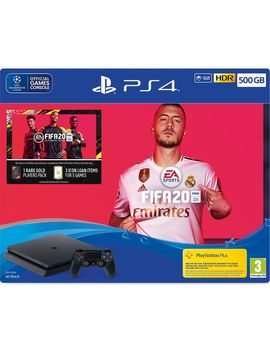 Play Station 4 With Fifa 20   500 Gb by Currys
