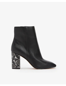 Square Toe Booties by Express