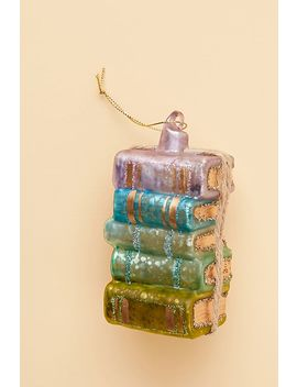 Stack Of Books Ornament by Anthropologie