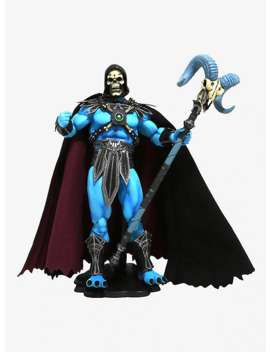 Masters Of The Universe Skeletor 1/6 Scale Deluxe Figure Glow In The Dark Hot Topic Exclusive by Hot Topic