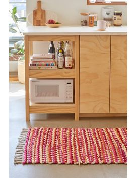 Lani Chunky Rag Rug by Urban Outfitters