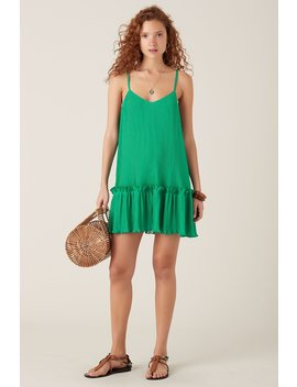 Ronette Short Dress   Green by Tigerlily