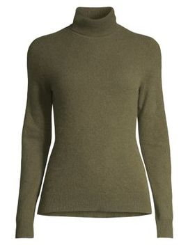 Cashmere Turtleneck Sweater by Lord & Taylor