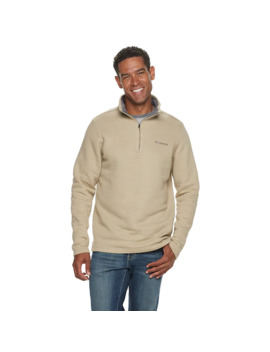 Men's Columbia Great Hart Mountain Iii Quarter Zip Pullover by Columbia