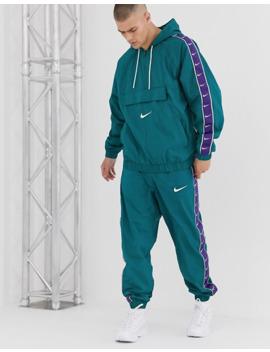 Nike Logo Taping Overhead Jacket by Nike
