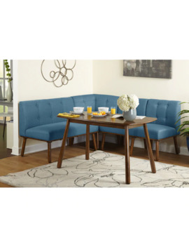 Simple Living 4 Piece Playmate Nook Dining Set   Blue by Simple Living