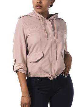 Zip Up Hooded Jacket by Papaya