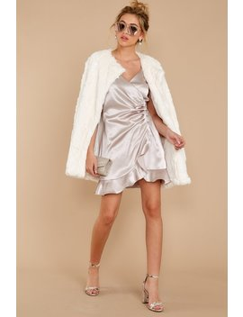 Uptown Luxe Ivory Coat by She + Sky