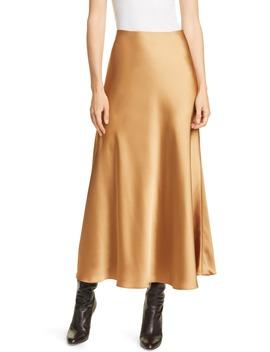 Bias Cut Satin Slip Skirt by Club Monaco