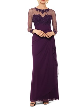 Illusion Neck Gown by Xscape