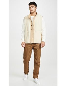 Boa Fleece Vest by Gramicci