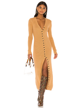 Kavala Sweater Dress In Camel by Lpa