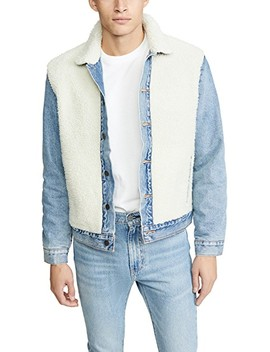 Sherpa Panel Trucker Jacket by Levi's Red Tab