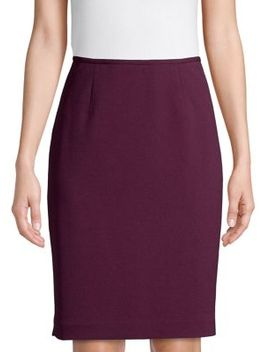 Straight Fit Skirt by Calvin Klein
