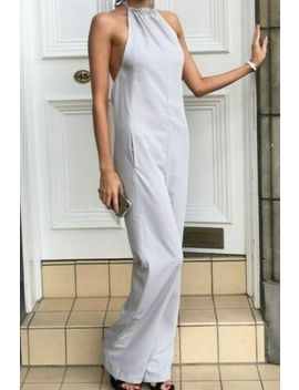 Asos Grey Jumpsuit Size 4 by Asos