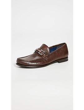 Crown Bit Loafers by Salvatore Ferragamo