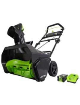Greenworks 80 V Brushless Snowthrower by Canadian Tire