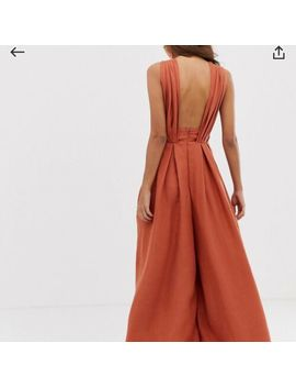 Asos Edition Wide Leg Jumpsuit by Asos